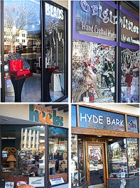 Hyde Park Shopping collage